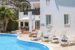 Фасад дома. Кипр, Пейя : Комфортабельная вилла с панорамным видом на море и на горы, с 3-мя спальнями, с бассейном и барбекю