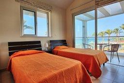 Спальня 3. Кипр, Санрайз Протарас : Современная вилла в 50 метрах от пляжа, с 3-мя спальнями, солнечной террасой с патио и барбекю, расположена у песчаного пляжа Sunrise