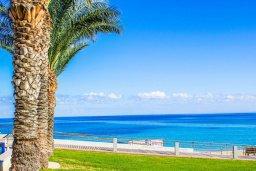 Вид на море. Кипр, Санрайз Протарас : Современная вилла на побережье с 2-мя спальнями, солнечной террасой с патио и барбекю, расположена у песчаного пляжа Sunrise