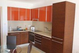 Кухня. Кипр, Санрайз Протарас : Уютный апартамент с отдельной спальней и видом на море, в комплексе с большим общим бассейном