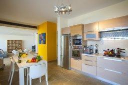 Кухня. Кипр, Коннос Бэй : Современная вилла с шикарным видом на море, с 5-ю спальнями, с lounge-зоной и барбекю, расположена на первой линии