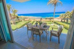 Балкон. Кипр, Пернера Тринити : Современный апартамент на побережье, с 2-мя спальнями, с балконом и шикарным видом на море
