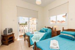Спальня 2. Кипр, Нисси Бич : Шикарная вилла с бассейном, с 2-мя спальнями, с настольным теннисом, патио и барбекю