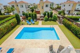 Бассейн. Кипр, Ионион - Айя Текла : Роскошная вилла с бассейном и зелёным садом, с 2-мя спальнями, патио и барбекю, расположена в тихом и спокойном месте