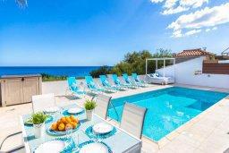 Бассейн. Кипр, Пернера Тринити : Шикарная вилла с захватывающим видом на Средиземное море, с 3-мя спальнями, с бассейном, патио и барбекю, расположена в 100 метрах от пляжа