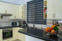 Кухня. Кипр, Корал Бэй : Роскошная вилла с шикарным видом на Средиземное море, с 6-ю спальнями, с бассейном, тенистой террасой с патио и барбекю, расположена на первой линии в Coral Bay