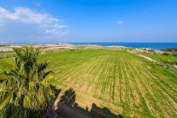 Вид на море. Кипр, Каппарис : Роскошная вилла с потрясающим видом на море, с 5-ю спальнями, сауной, с бассейном и патио с барбекю