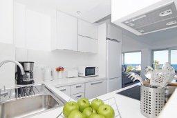 Кухня. Кипр, Каво Марис Протарас : Шикарный апартамент в 100 метрах от пляжа, с тремя спальнями, двумя ванными комнатами и балконом с шикарным видом на море