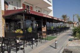 Кипр, Ларнака город : Студия с телевизором, кондиционером и видом на море