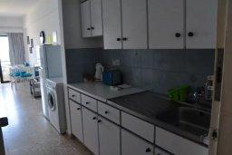 Студия (гостиная+кухня). Кипр, Ларнака город : Студия на первой линии с шикарным видом на море