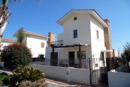 Фасад дома. Кипр, Ионион - Айя Текла : Прекрасная вилла с общим бассейном, с 4-мя спальнями, с тенистой террасой с патио и барбекю