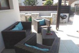 Патио. Кипр, Ионион - Айя Текла : Прекрасная вилла с общим бассейном, с 4-мя спальнями, с тенистой террасой с патио и барбекю