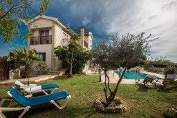 Территория. Кипр, Сиренс Бич - Айя Текла : Роскошная вилла с потрясающим видом на море, с 3-мя спальнями, с бассейном, в окружение пышного сада, с патио и барбекю