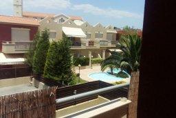 Вид. Кипр, Гермасойя Лимассол : Прекрасный мезонет в комплексе с бассейном, 3 спальни, приватный дворик, парковка, Wi-Fi