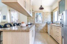 Кухня. Кипр, Каппарис : Прекрасная вилла с 3-мя спальнями, с бассейном и приватным двориком с патио и барбекю