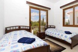 Спальня 3. Кипр, Нисси Бич : Роскошная вилла с 4-мя спальнями, с бассейном и большим приватным двориком с патио и барбекю
