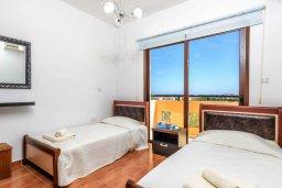 Спальня 3. Кипр, Каппарис : Уютная вилла с видом на море, с 3-мя спальнями, с бассейном и приватным двориком с патио и барбекю