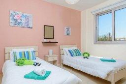 Спальня 2. Кипр, Коннос Бэй : Потрясающая вилла с 3-мя спальнями, с бассейном, тенистой террасой с патио и барбекю