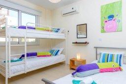 Спальня 3. Кипр, Коннос Бэй : Потрясающая вилла с 3-мя спальнями, с бассейном, тенистой террасой с патио и барбекю