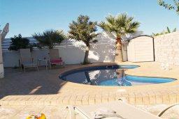 Бассейн. Кипр, Санрайз Протарас : Уютная вилла с видом на море, с 2-мя спальнями, с бассейном, патио и барбекю