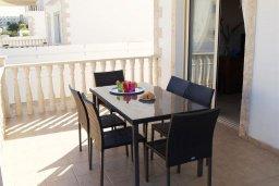 Обеденная зона. Кипр, Санрайз Протарас : Уютная вилла с видом на море, с 2-мя спальнями, с бассейном, патио и барбекю