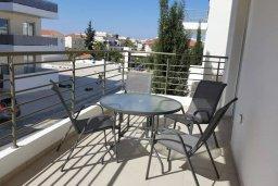 Балкон. Кипр, Каппарис : Современный апартамент в комплексе с бассейном, с гостиной, двумя спальнями и балконом