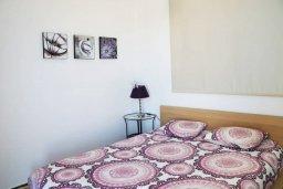 Спальня. Кипр, Пернера Тринити : Современная вилла с бассейном и двориком, 2 спальни, 2 ванные комнаты, барбекю, парковка, Wi-Fi