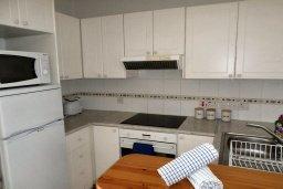 Кухня. Кипр, Пафос город : Апартамент в комплексе с 2-мя бассейнами и зеленой территорией, с гостиной, отдельной спальней и балконом