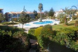 Территория. Кипр, Пафос город : Апартамент в комплексе с бассейном и садом, с гостиной, двумя спальнями и балконом