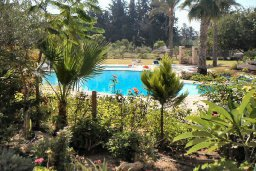 Вид. Кипр, Пафос город : Апартамент в комплексе с бассейном и садом, с гостиной, двумя спальнями и террасой