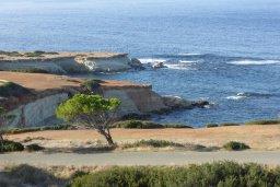 Вид на море. Кипр, Си Кейвз : Прекрасная вилла с бассейном и видом на море, 3 спальни, 3 ванные комнаты, парковка, Wi-Fi