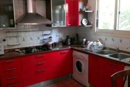Кухня. Кипр, Дасуди Лимассол : Уютный дом с приватным двориком с барбекю, 4 спальни, 3 ванные комнаты, парковка, Wi-Fi