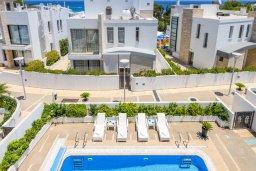 Территория. Кипр, Каво Марис Протарас : Шикарная вилла с бассейном и двориком с барбекю, 4 спальни, 4 ванные комнаты, лифт, патио на крыше с видом на море, джакузи, паркинг, Wi-Fi