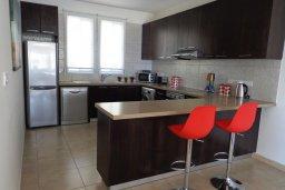 Кухня. Кипр, Куклия : Восхитительная вилла с бассейном и зеленым двориком с барбекю, 3 спальни, 2 ванные комнаты, парковка, Wi-Fi