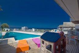 Бассейн. Кипр, Каво Марис Протарас : Шикарная вилла с бассейном и видом на море, 6 спален, 5 ванных комнат, барбекю, сад, парковка, Wi-Fi
