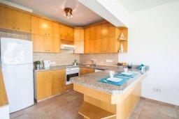 Кухня. Кипр, Пернера : Роскошный пентхаус с потрясающим видом на Средиземное море, с 3-мя спальнями, с зелёным двориком, барбекю, расположен прямо на знаменитом пляже Sirena Beach