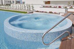 Бассейн. Кипр, Аммос - Лимнария Бич : Роскошная современная вилла с бассейном и джакузи, 70 метров до пляжа, 6 спален, 6 ванных комнат, барбекю, парковка, Wi-Fi