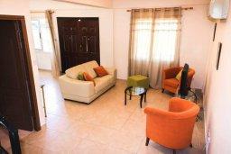 Гостиная. Кипр, Гермасойя Лимассол : Прекрасная вилла с бассейном и приватным двориком, 3 спальни, 2 ванные комнаты, парковка, Wi-Fi