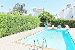 Бассейн. Кипр, Нисси Бич : Прекрасная вилла с бассейном в 100 метрах от пляжа Нисси, 3 спальни, парковка, Wi-Fi