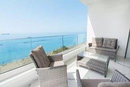 Вид на море. Кипр, Дасуди Лимассол : Роскошный апартамент в Лимассоле с потрясающим видом на море 3 спальни на первой береговой линии