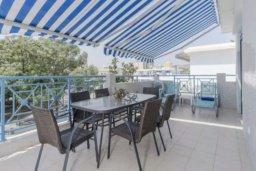Терраса. Кипр, Гермасойя Лимассол : Современные просторные и комфортные апартаменты с 3-мя спальнями для 7-ых человек в тихом и спокойном месте.