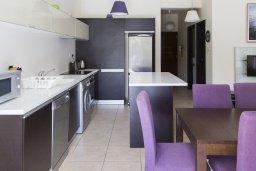 Кухня. Кипр, Декелия - Ороклини : Уютная вилла с бассейном и двориком в 100 метрах от пляжа, 4 спальни, 4 спальни, барбекю, парковка, Wi-Fi