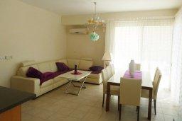 Гостиная. Кипр, Декелия - Ороклини : Прекрасная вилла с бассейном в 115 метрах от пляжа, 3 спальни, 2 ванные комнаты, барбекю, парковка, Wi-Fi