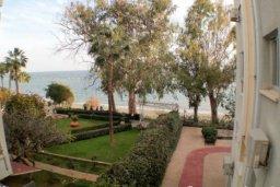 Территория. Кипр, Айос Тихонас Лимассол : Светлые односпальные апартаменты для 3 гостей с очаровательным видом на море