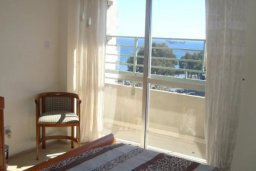 Спальня. Кипр, Центр Лимассола : Прекрасная 3-комнатная квартира с видом на море, всего в 130 метрах от пляжа для 6-ти гостей.