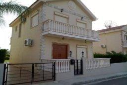 Фасад дома. Кипр, Гермасойя Лимассол : Уютная вилла с 3 спальнями с собственным бассейном в центре Лимассола в 300 метрах от моря для 6-ти гостей