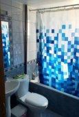 Ванная комната. Кипр, Св. Рафаэль Лимассол : Уютные апартаменты с 2-мя спальнями для 4-ти гостей всего в 300 метрах от моря, Лимассол
