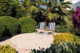 Парковка. Кипр, Лачи : Прекрасная вилла с панорамным видом на море и гавань Лачи, с 3-мя спальнями, с красивым зелёным садом, патио, барбекю и с уютной меблированной террасой на крыше
