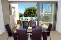 Гостиная. Кипр, Лачи : Очаровательная вилла с видом на залив Chryshochou и гавань Latchi, с 3-мя спальнями, с бассейном, патио и барбекю