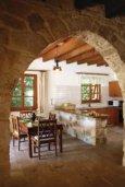 Гостиная. Кипр, Милиу : Очаровательная вилла с 2 спальнями с для 4-ти гостей с бассейном и садом